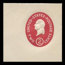 U.S. Scott # U 533b, 1950 2c Washington, Die 2 - Mint Full Corner