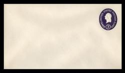 U.S. Scott # U 534c, 1950 3c Washington, Die 3 - Mint Envelope, UPSS Size 10