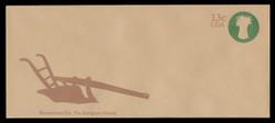 U.S. Scott # U 573 1976 13c American Farmer - Sheaf of Wheat - Mint Envelope, UPSS Size 23