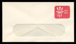 U.S. Scott # U 581 1978 15c Uncle Sam - Mint Envelope, UPSS Size 12-WINDOW
