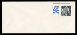 U.S. Scott # U 617C 1989 25c Space Station Hologram - Mint Envelope, Type C UPSS Size 21 (See Warranty)