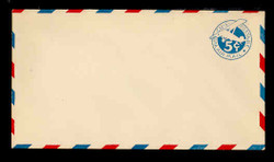 U.S. Scott # UC  2 1929 5c Plane, Blue Background, Die 2, Border Type b/2 - Mint Envelope, UPSS Size 13 (See Warranty)