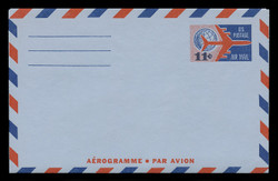U.S. Scott # UC 35 1961 11c Jet Airliner & Globe - Mint Air Letter Sheet