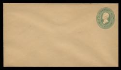 U.S. Scott # U 258, 1886 4c Jackson, Die 2, green on manila - Mint Envelope, UPSS Size 10