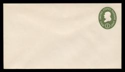 U.S. Scott # U 532a/10, UPSS # 3283/42, 1950 1c Franklin, Die 2 - Mint (See Warranty)