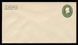 U.S. Scott # U 532b/13, UPSS # 3294a/45, 1950 1c Franklin, Die 3 - Mint (See Warranty)