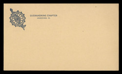 D.A.R. (Daughters of the American Revolution) Correspondence Card (On Scott #UX27) - Est. period of use, 1940s.