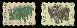 FAROE ISLANDS Scott #  63-4, 1981 EUROPA - The Ring Dance (Set of 2)