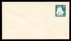 U.S. Scott # U 609/12, UPSS #3705/47 1985 6c U.S.S. Constitution - Mint (See Warranty)