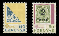 FAROE ISLANDS Scott #  43-4, 1979 EUROPA - Denmank/Faroe Stamps (Set of 2)