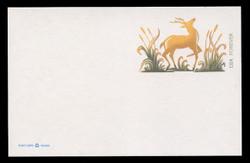 U.S. Scott # UX 644, 2013 FOREVER (33c) Deer - Mint Postal Card