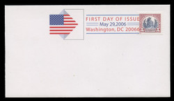 U.S. Scott #4075a-c, 2006  $1-$5 Reprints of Scott #s 571-3 SET of 3 First Day Covers.  Digital Colorized Postmarks