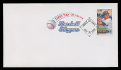 U.S. Scott #4080-3, 2006 39c Baseball Sluggers SET of 4 First Day Covers.  Digital Colorized Postmarks