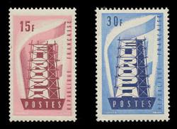 FRANCE Scott #  805-6, 1956 EUROPA (Set of 2)