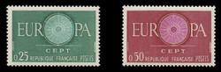 FRANCE Scott #  970-1, 1960 EUROPA (Set of 2)