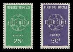 FRANCE Scott #  929-30, 1959 EUROPA (Set of 2)