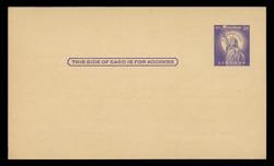 U.S. Scott # UX  46/UPSS #S63 Type 1, 1958 3c Statue of Liberty - Mint Face Postal Card (See Warranty)