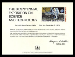 Brookman PS20/Scott SC48 1976 Science and Technology Souvenir Card