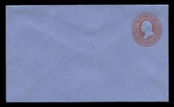 U.S. Scott # U O054/07, UPSS # WD93/2, 1875 3c Washington, red on blue - Mint (See Warranty)