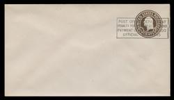 U.S. Scott # U 481/10, UPSS #2144/40 1925 1½c Franklin, brown on white, Die 1, with PENALTY OVERPRINT - Mint (See Warranty)