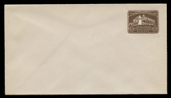 U.S. Scott # U 524/13, UPSS # 3262/29, 1932 1½c Washington Bicentennial, DARK BROWN - Mint (See Warranty)