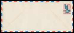 U.N.N.Y. Scott # UC  8L, 1969 10c U.N. Emblem - Mint Envelope, Large  Size