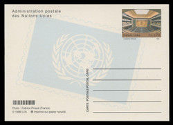 U.N.GEN Scott # UX 13, 1998 70c Assembly Hall - Mint Postal Card