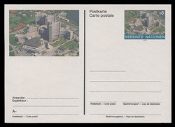 U.N.VIEN Scott # UX  7, 1993 6s Donaupark, Vienna - Mint Postal Card