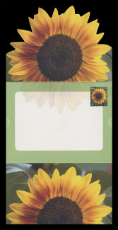 U.S. Scott # U 665, 2008 42c Sunflower  - Letter Sheet, Folded (See Warranty)