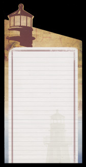 U.S. Scott # U 669-73, 2009 44c Gulf Coast Lighthouses - Letter Sheets (Set of 5), Folded (See Warranty)