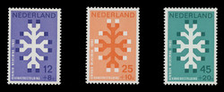 NETHERLANDS Scott # B 449-51, 1969 Queen Wilhelmina Fund, 20th Anniversary (Set of 3)