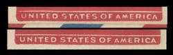 U.S. Scott # UC 18 1950 6c DC-4 Skymaster, Type 1 - Mint Envelope, UPSS Size 23 - BADLY WORN DIE EFO