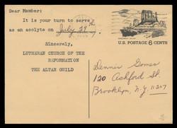 U.S. Scott # UX  62, 1972 6c Tourism - Monument Valley - Used Postal Card