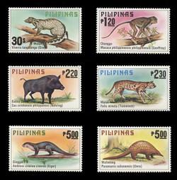 PHILIPPINES Scott # 1403-8, 1979 Philippine Animals (Set of 6)
