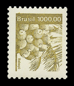 BRAZIL Scott # 1940, 1984 1000cr Babacu