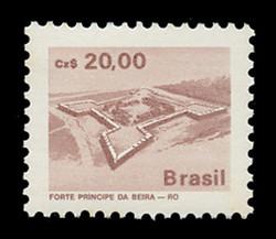 BRAZIL Scott # 2069, 1986 20cz Principe da Beiro Fort, Mato Dentro