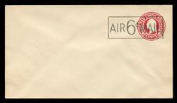 U.S. Scott # UC  8c/10, UPSS #AM41/30A 1945 6c on 2c Washington, Die 9 - Mint (See Warranty)