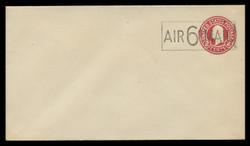 U.S. Scott # UC  8c/13, UPSS #AM43/36 1945 6c on 2c Washington, Die 9 - Mint (See Warranty)