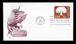 U.S. Scott #U576 13c Liberty Tree Envelope First Day Cover.  MARG cachet.