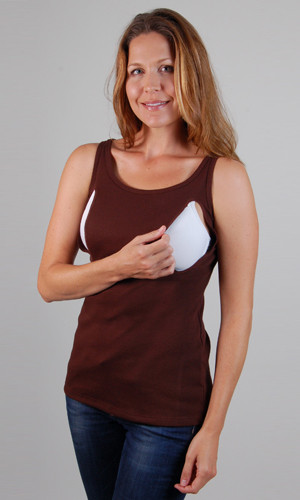 Milkshirt is a % cotton undershirt that is meant to be worn with a nursing bra and any shirt or blouse that can be lifted up or unbuttoned for nursing a baby. It is .