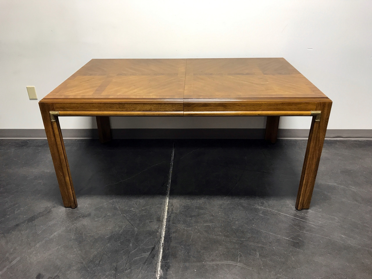 Sold out drexel heritage accolade campaign style dining table sold out drexel heritage accolade campaign style dining table geotapseo Image collections