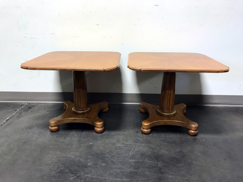 ... HENREDON Mid Century Era Neoclassical Style Low Cocktail Tables ...