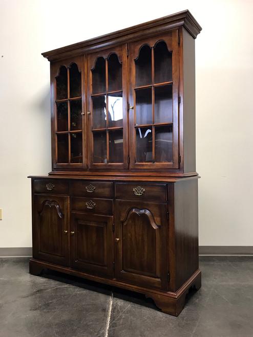 STATTON Oxford Antique Cherry China Cabinet Hutch - Boyd's Fine ...