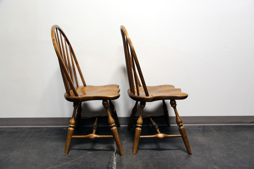 Superb ... Frederick Duckloe U0026 Bros Portland Pennsylvania Windsor Side Dining  Chairs   ...