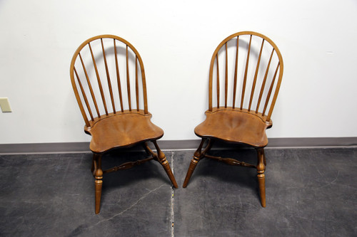 ... Frederick Duckloe U0026 Bros Portland Pennsylvania Windsor Side Dining  Chairs   ...