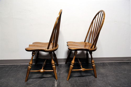 Amazing ... Frederick Duckloe U0026 Bros Portland Pennsylvania Windsor Side Dining  Chairs   ...