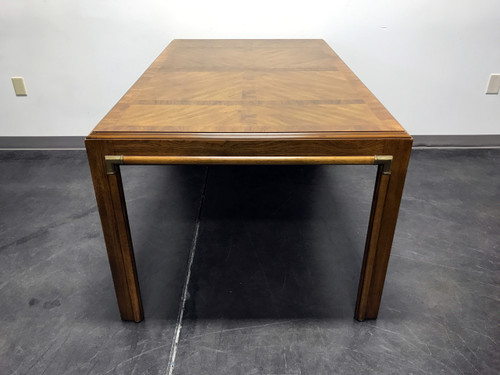 ... SOLD OUT   DREXEL HERITAGE Accolade Campaign Style Dining Table ...