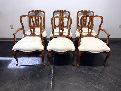 kindel borghese cherry french country style dining chairs set of 6