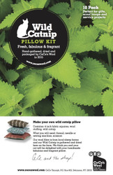 Wild Catnip Pillow Kit