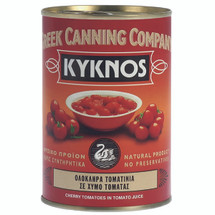 Kyknos Cherry Tomatoes in Tomato Juice 400g Can